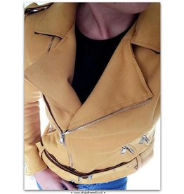 BIKERJACKET YELLOW