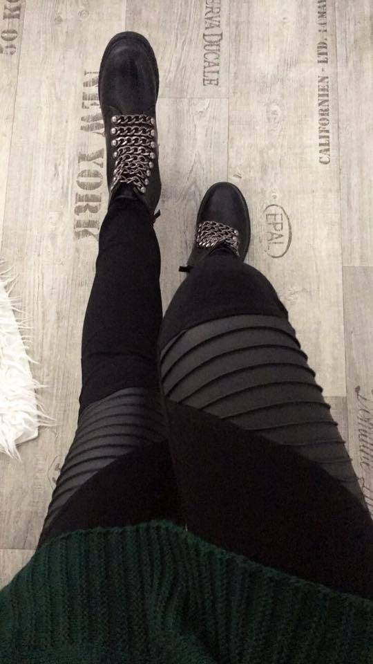 BLACK PANTS SILLA