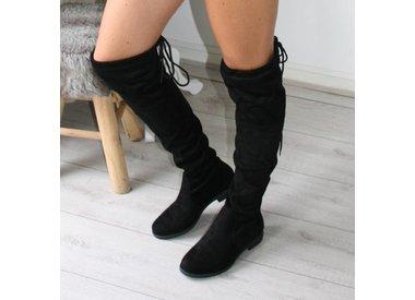 Overknee laarzen