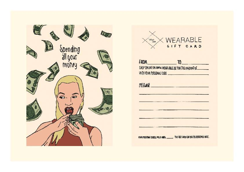 Gift Card - Post Card