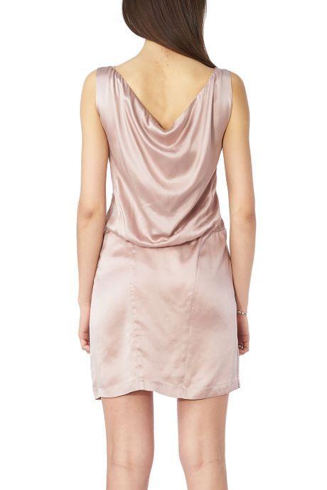 POP COPENHAGEN  Silk Sand Pink Dress