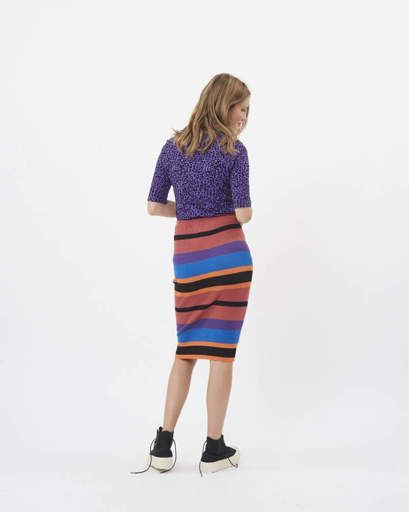 Moves by minimum Colorful Skirt