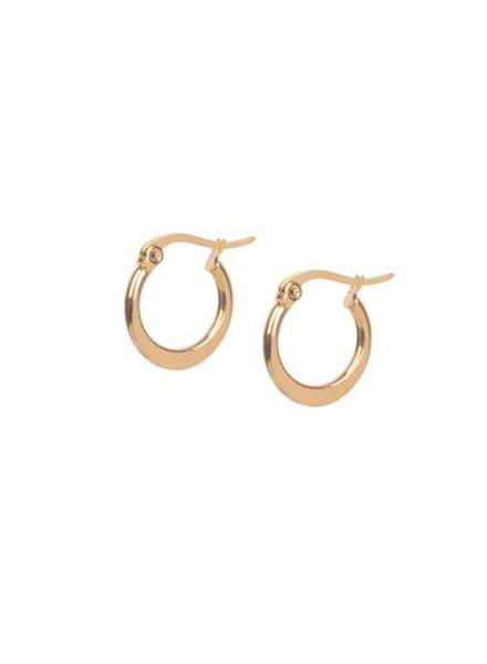 Ellen Beekmans  Golden Earrings (1,5cm)