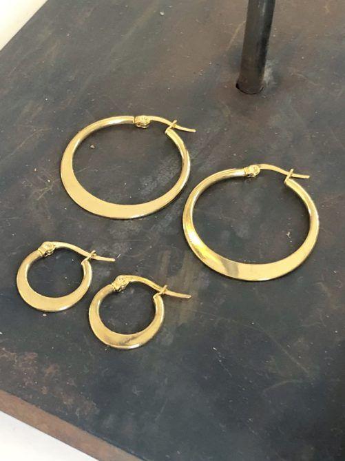 Ellen Beekmans  Golden Earrings (1,5)
