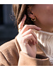 Ellen Beekmans  SHORT EARSTUDS OPEN CIRCLE
