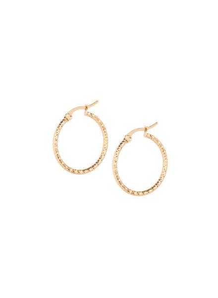 Ellen Beekmans  GOLDEN EARRINGS (2.5CM)