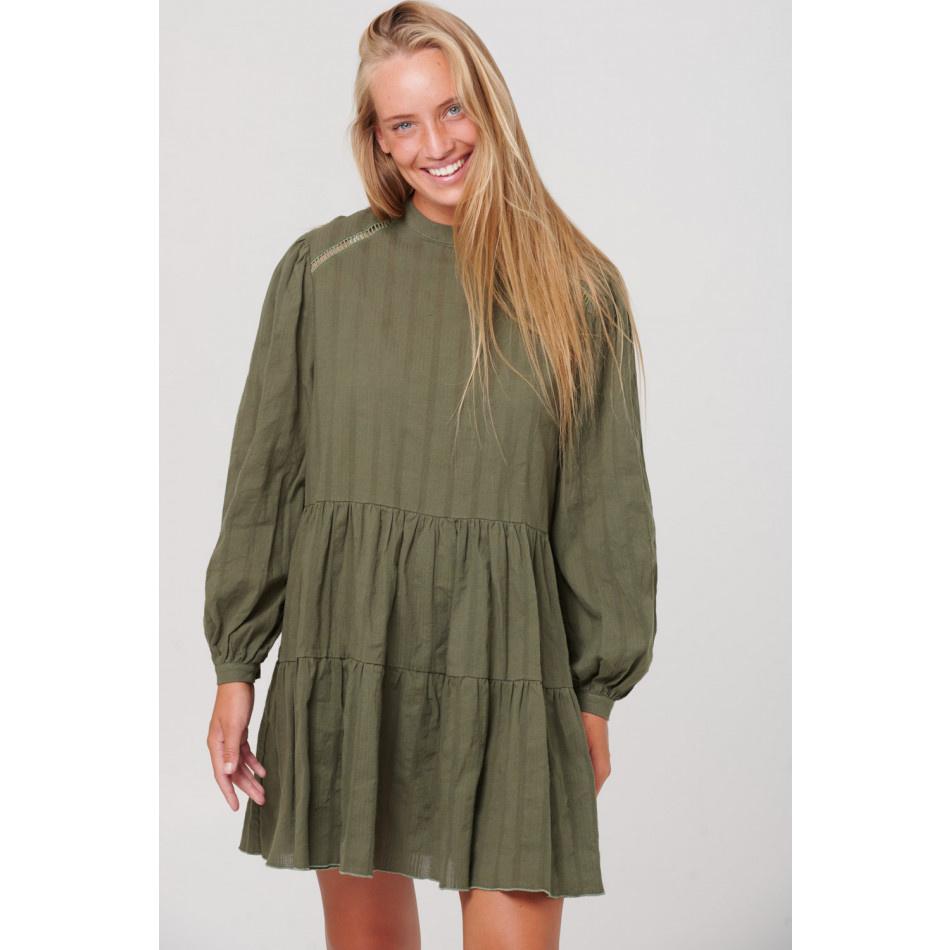 Noella TIF DRESS - ARMY
