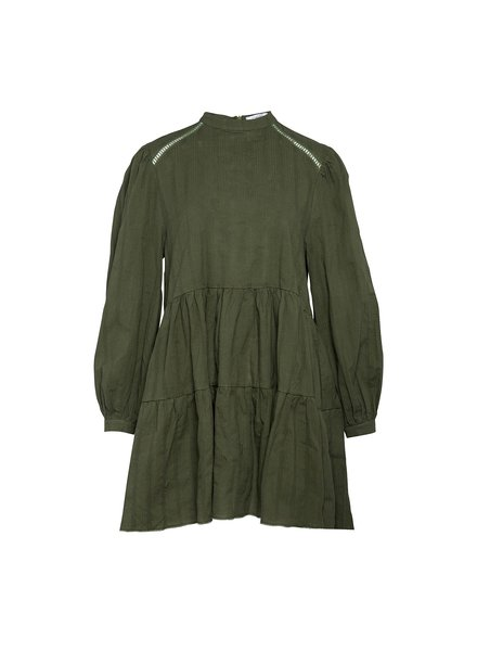 NOELLA TIF DRESS - ARMY