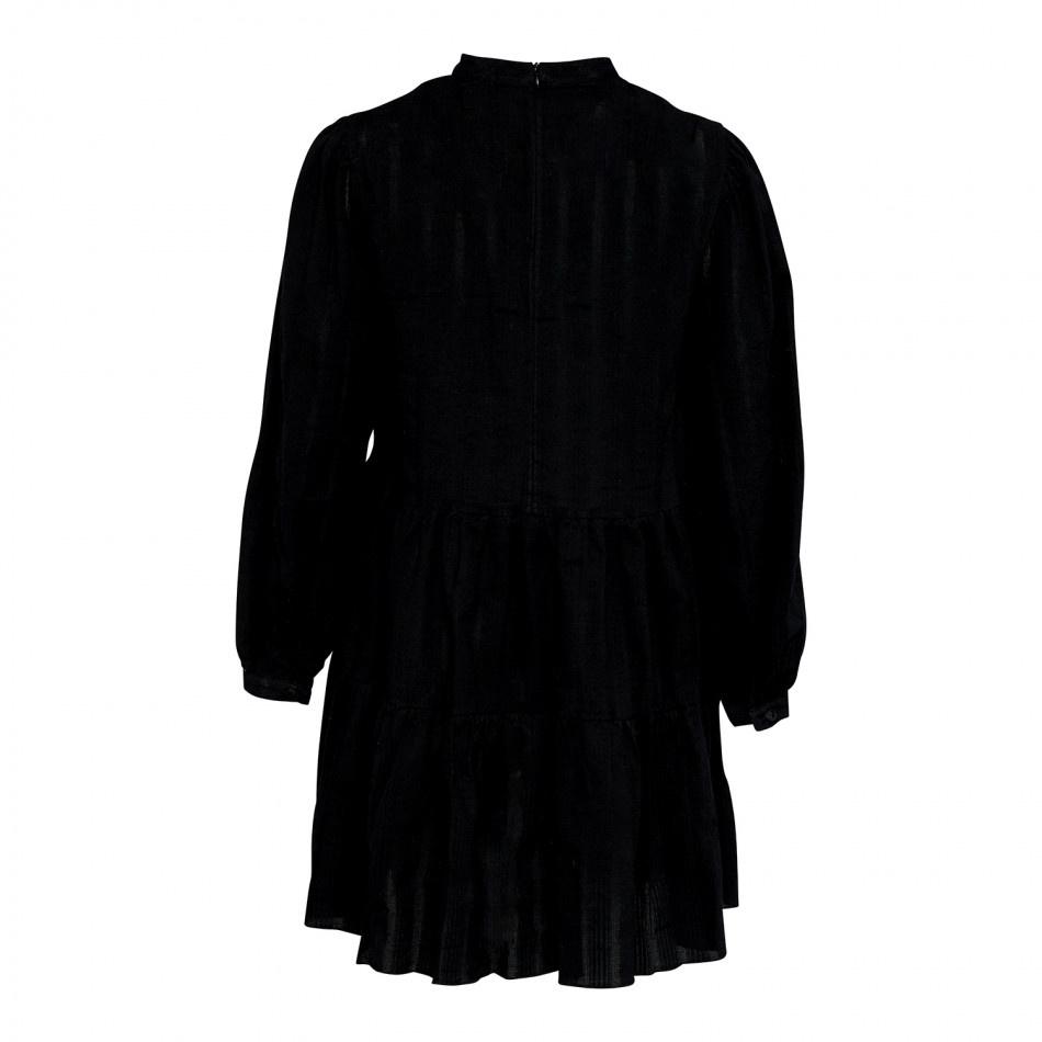 Noella TIF DRESS - BLACK