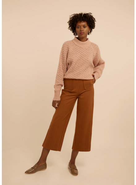 FRNCH PEARLINE PANTS - BROWN STRIPED