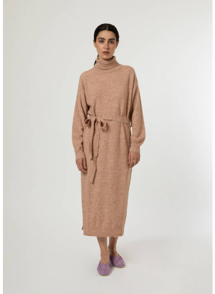 FRNCH DRESS AMORE - BEIGE