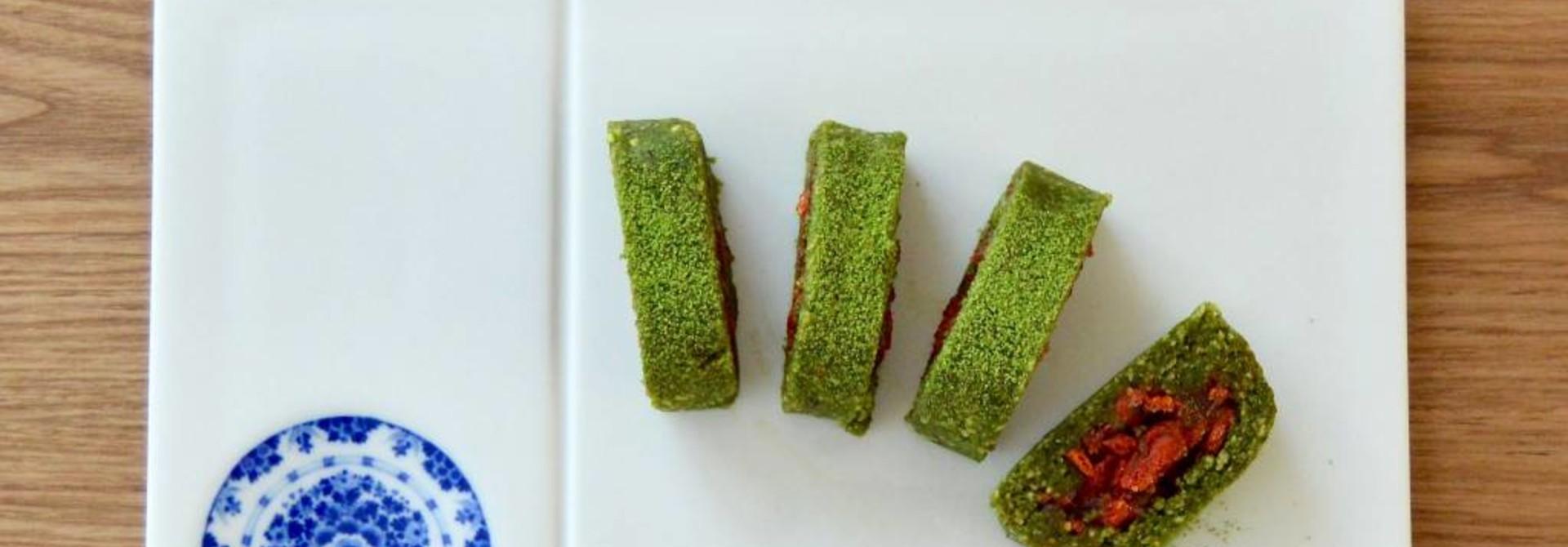 Superfood Matcha Rolls
