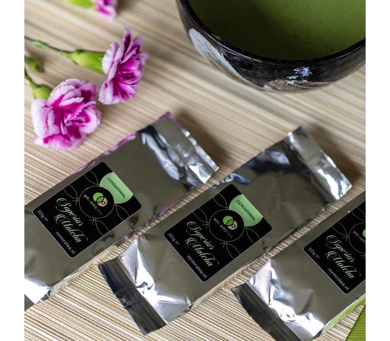 3 navulverpakkingen Matcha Ceremonial ★ een drank die meer energie geeft