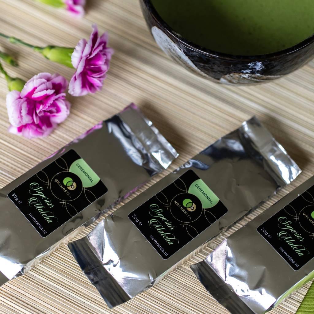 3 navulverpakkingen Matcha Ceremonial ★ Een gezonde drank die meer energie geeft-1