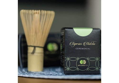 Mr & Mrs Tea Matcha Set, Superior Matcha & Chasen