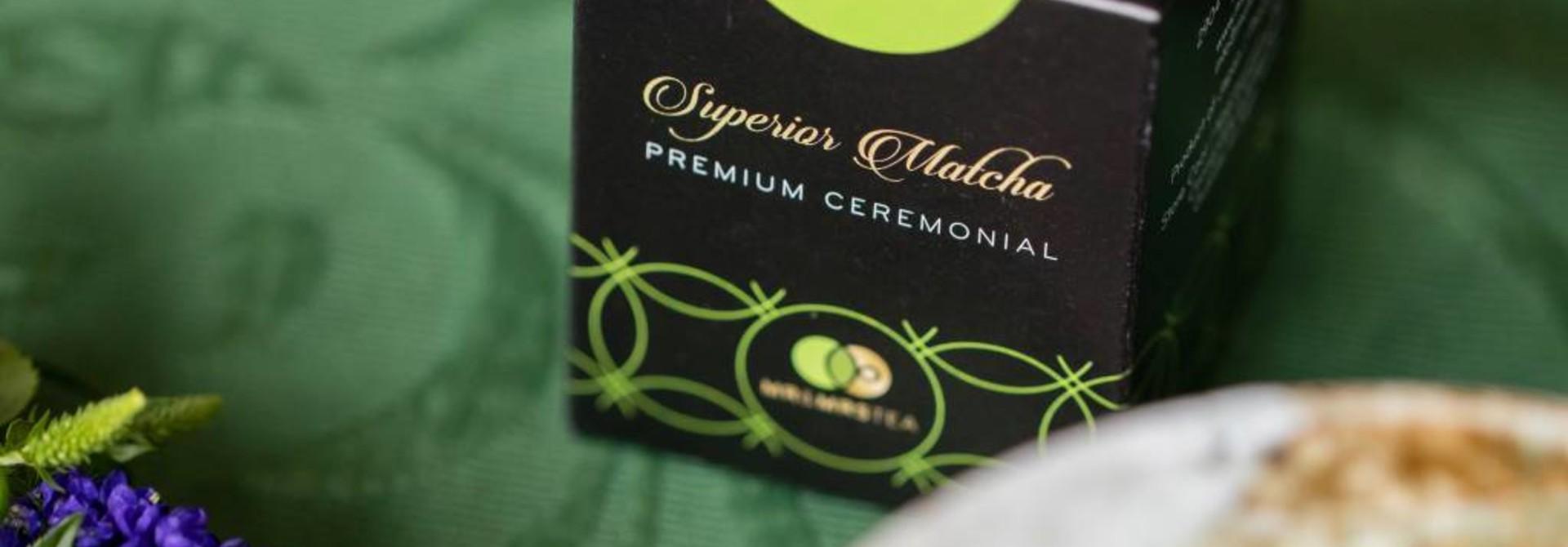 Superior Matcha Premium Ceremonial ★★ Om elke dag gezond te beginnen