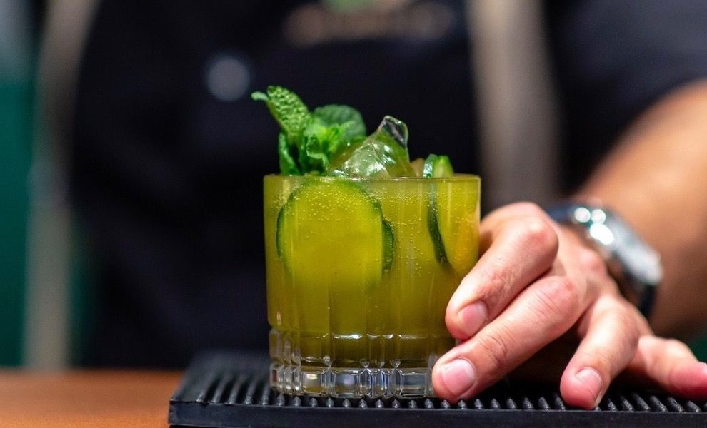 Spitfire, spicy cocktail