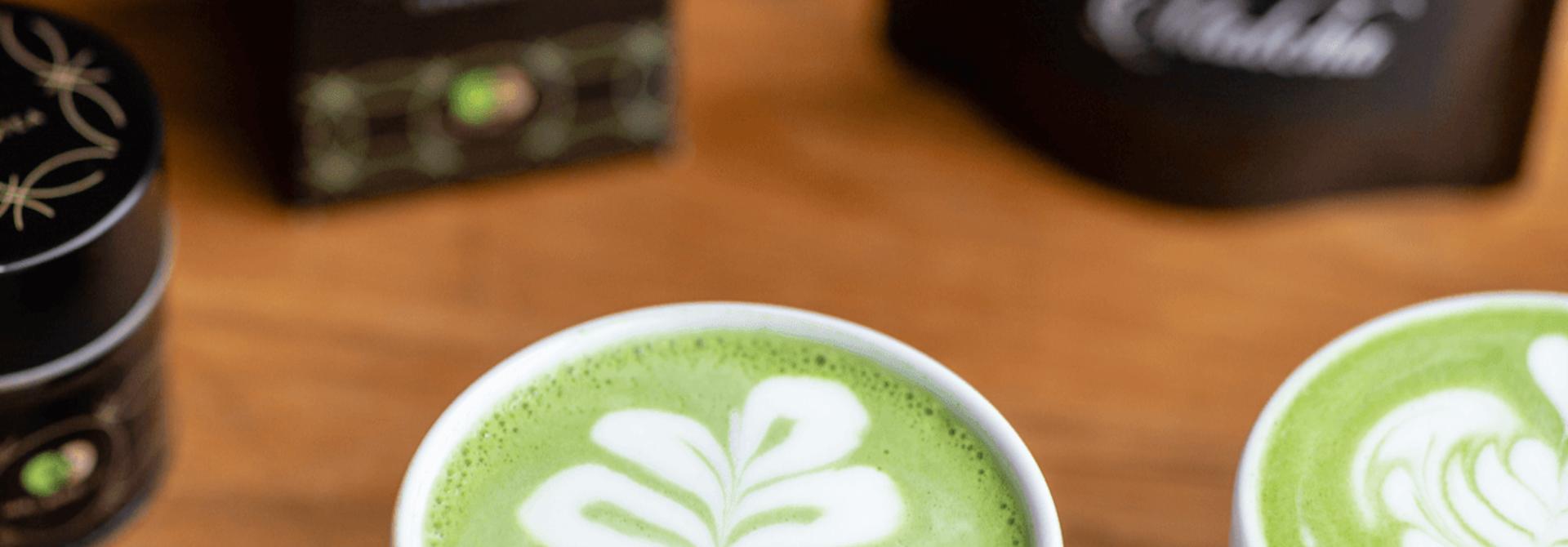 Matcha Latte en Cooking