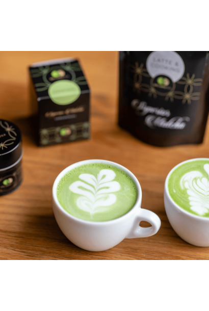 Matcha Latte en Cooking
