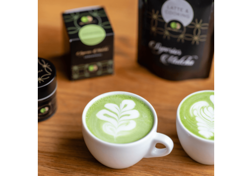 Mr & Mrs Tea Matcha Latte en Cooking