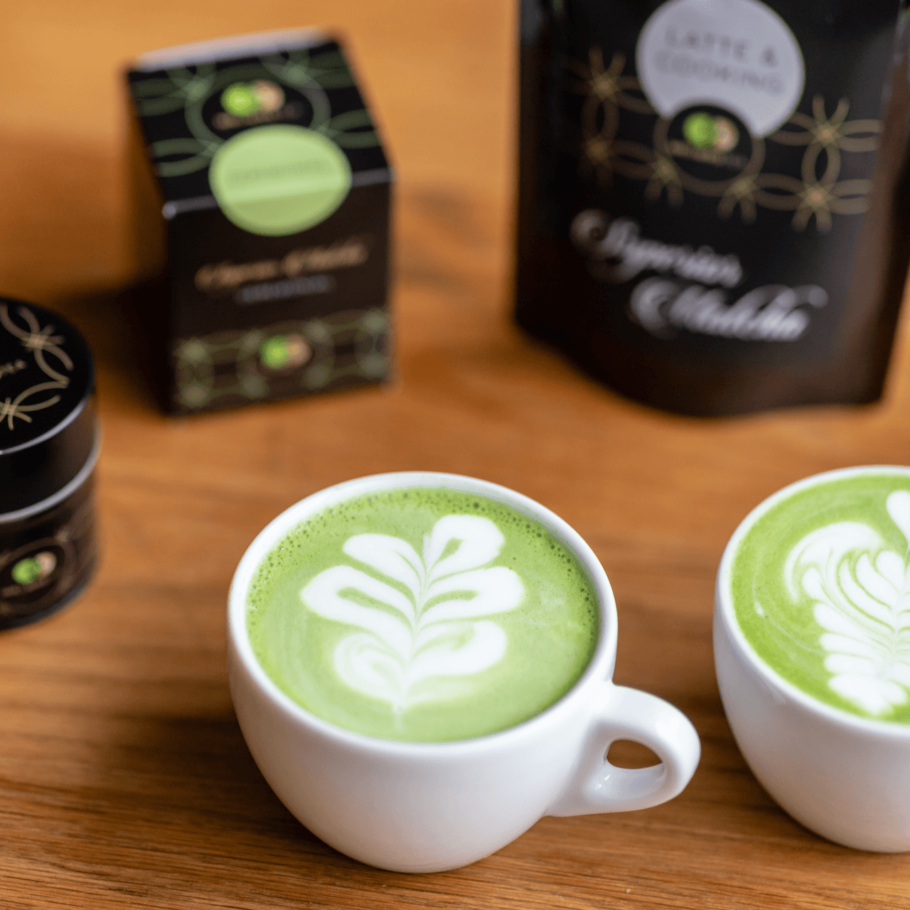 Matcha Latte en Cooking-1