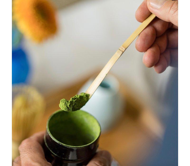 Bamboe matcha lepel - Chashaku