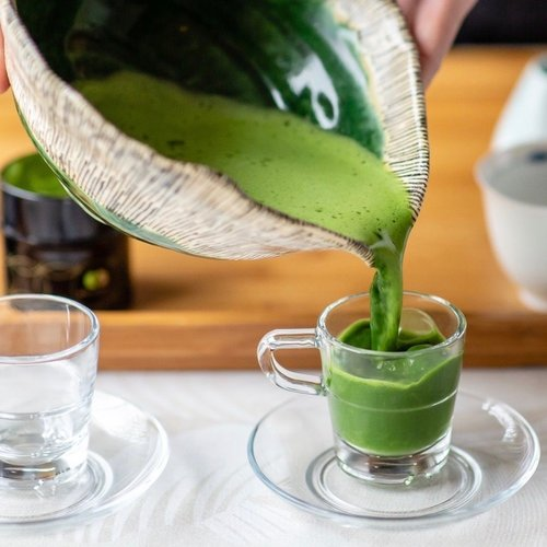 Matcha en L-theanine