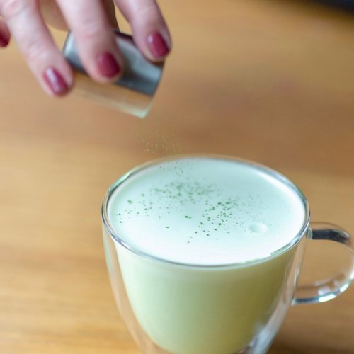 Matcha Latte maken #2