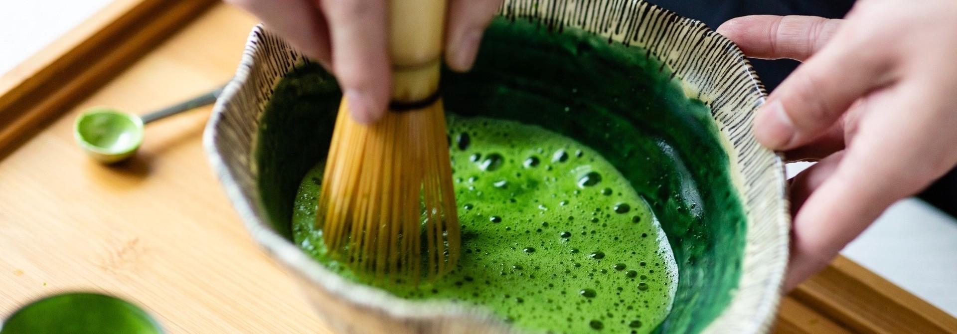 Matcha, Japanse groene poederthee uit Uji