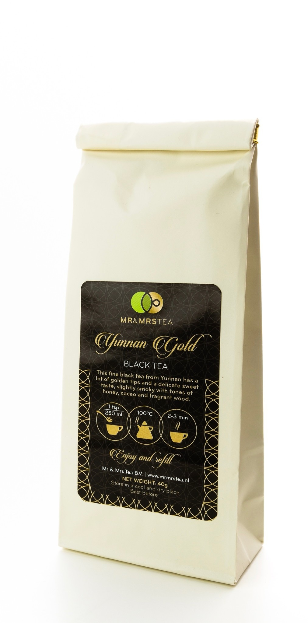 Yunnan Golden Tippy - Zwarte thee-2