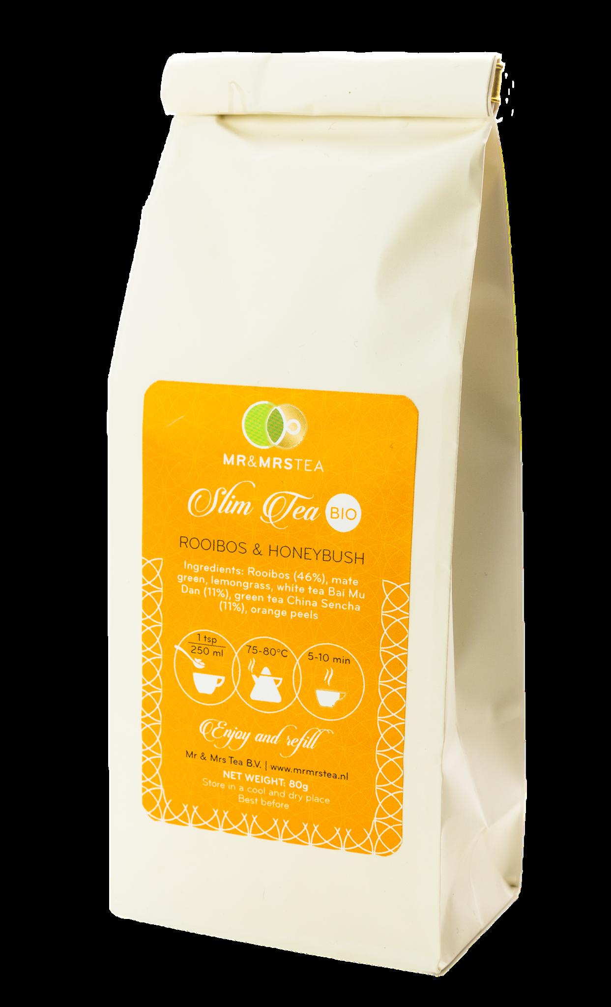 Slim Tea met mate, witte en groene thee-2