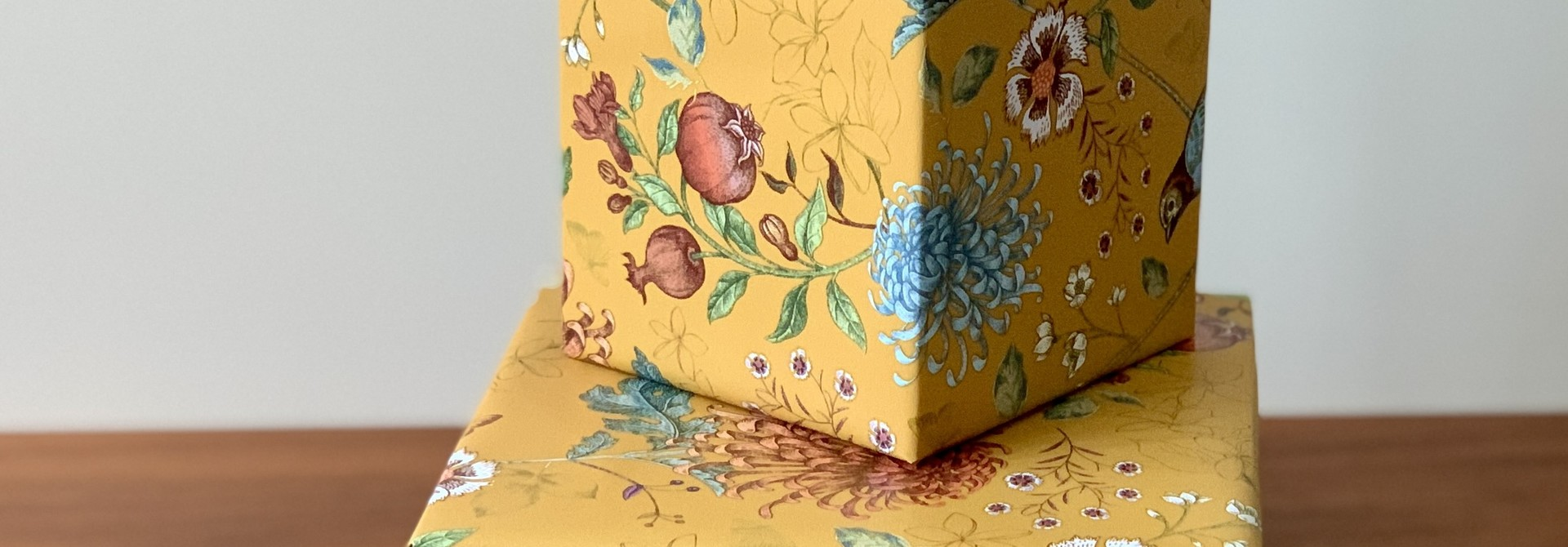 Cadeau verpakking met persoonlijke boodschap