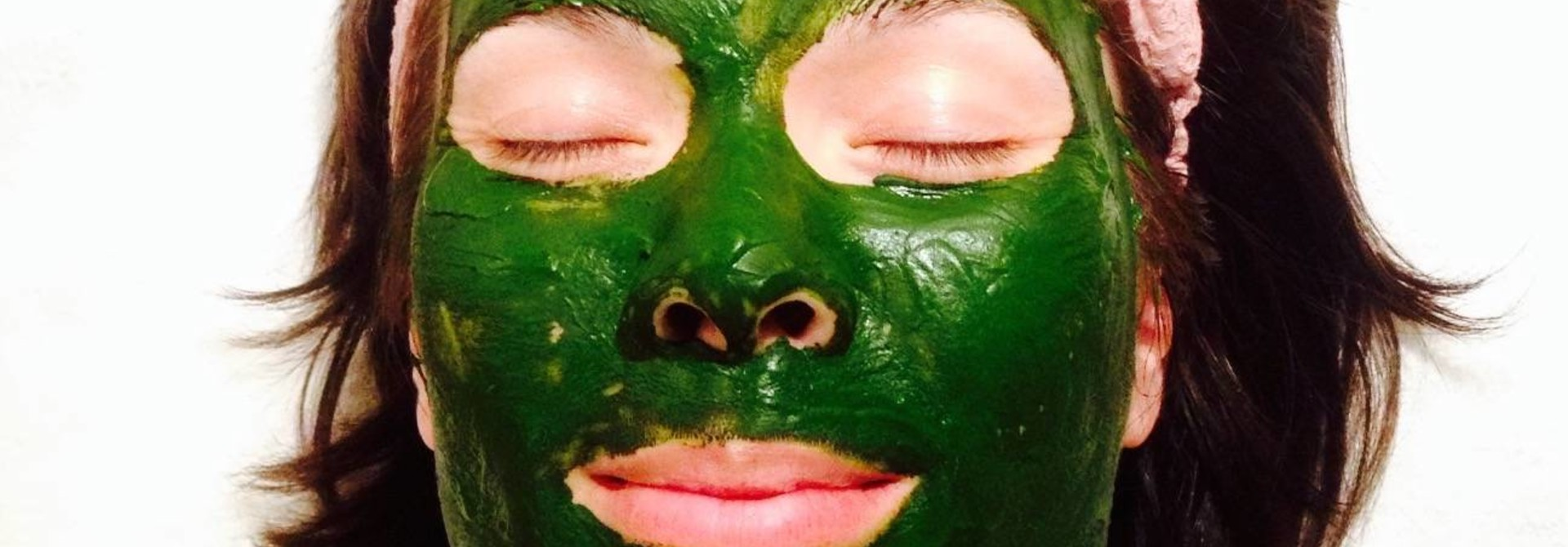 Matcha groene thee gezichtsmasker