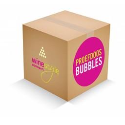 Proefdoos bubbels