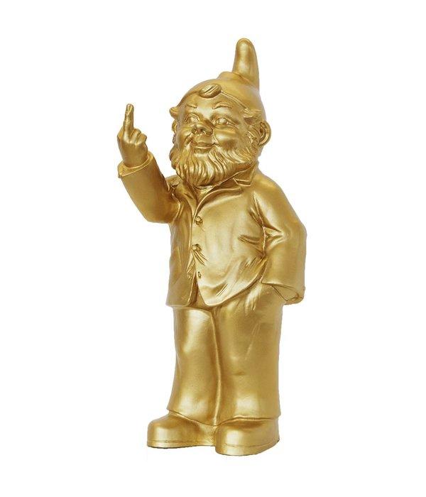 OTTMAR HORL Sponti (Activist) Garden Gnome in Gold