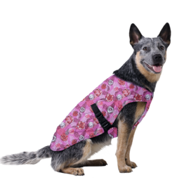Aqua Coolkeeper Dog Cooling vest Roses
