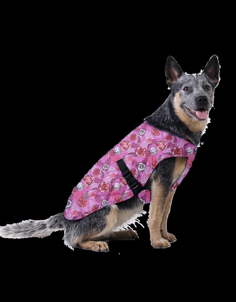 Aqua Coolkeeper Dog Cooling vest Roses