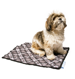 Aqua Coolkeeper Dog Cooling pad Scottish Grey
