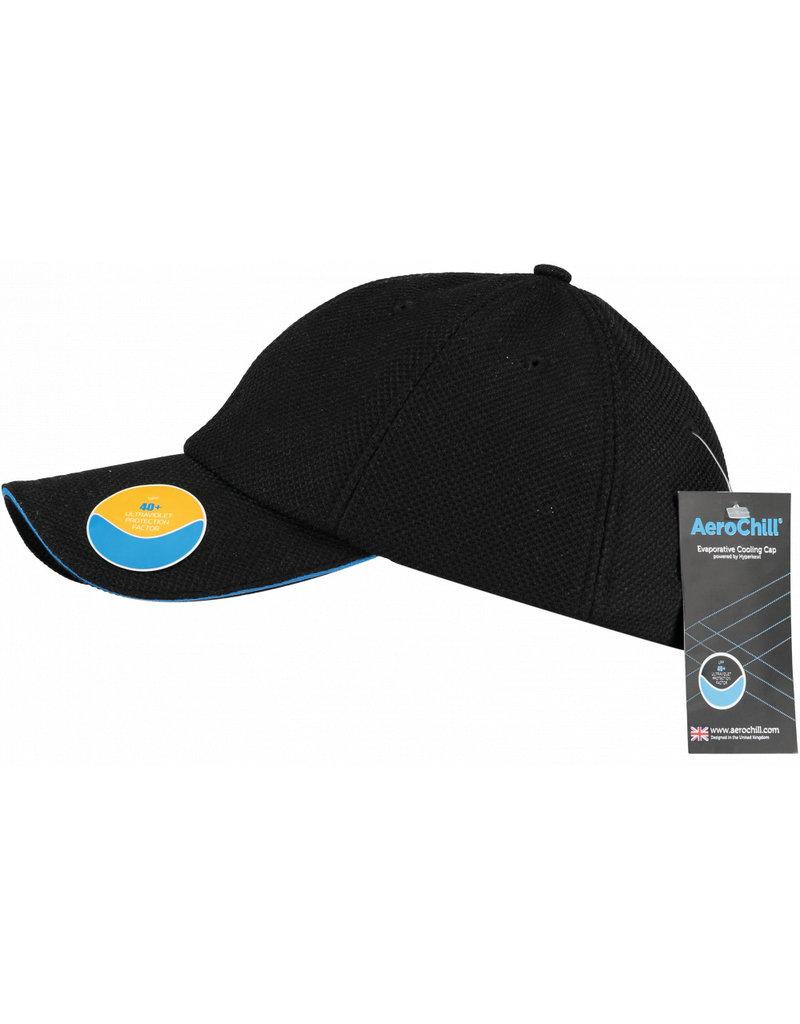 HyperKewl Aerochill Cooling Cap Black Blue
