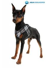 Aqua Coolkeeper Pet Cooling harness Scottish Grey