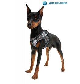 Aqua Coolkeeper Pet Cooling harness Scottish Grey