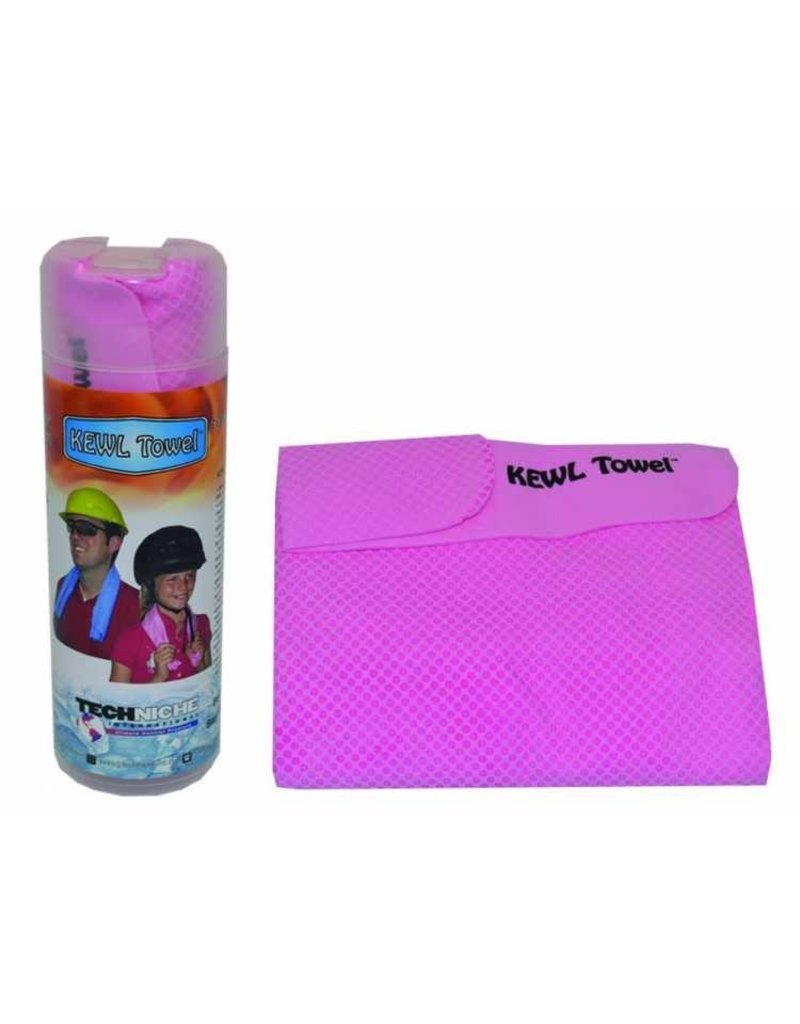 Techniche Cooling Towel Pink