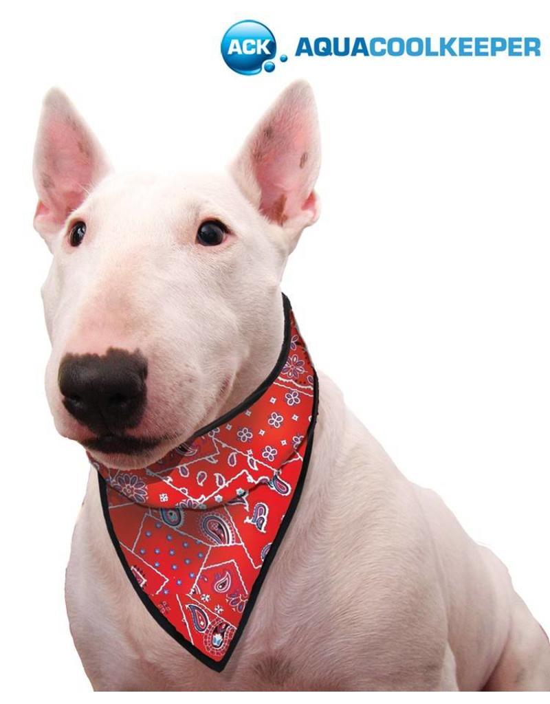 Aqua Coolkeeper Honden Koel bandana Red Western