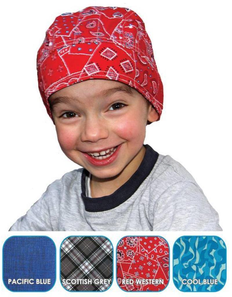 Aqua Coolkeeper Cooling Bandana Cool Blue Kids