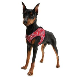 Aqua Coolkeeper Pet Cooling harness Red Western