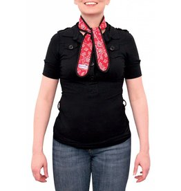 Aqua Coolkeeper Cooling Scarf Red Western