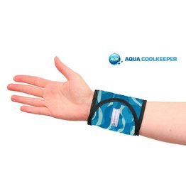 Aqua Coolkeeper Cooling Wristband Cool Blue