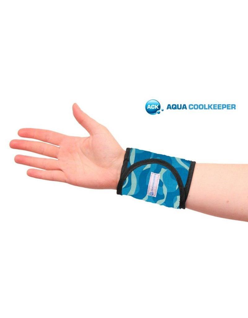 Aqua Coolkeeper Cooling Wristband Cool Blue