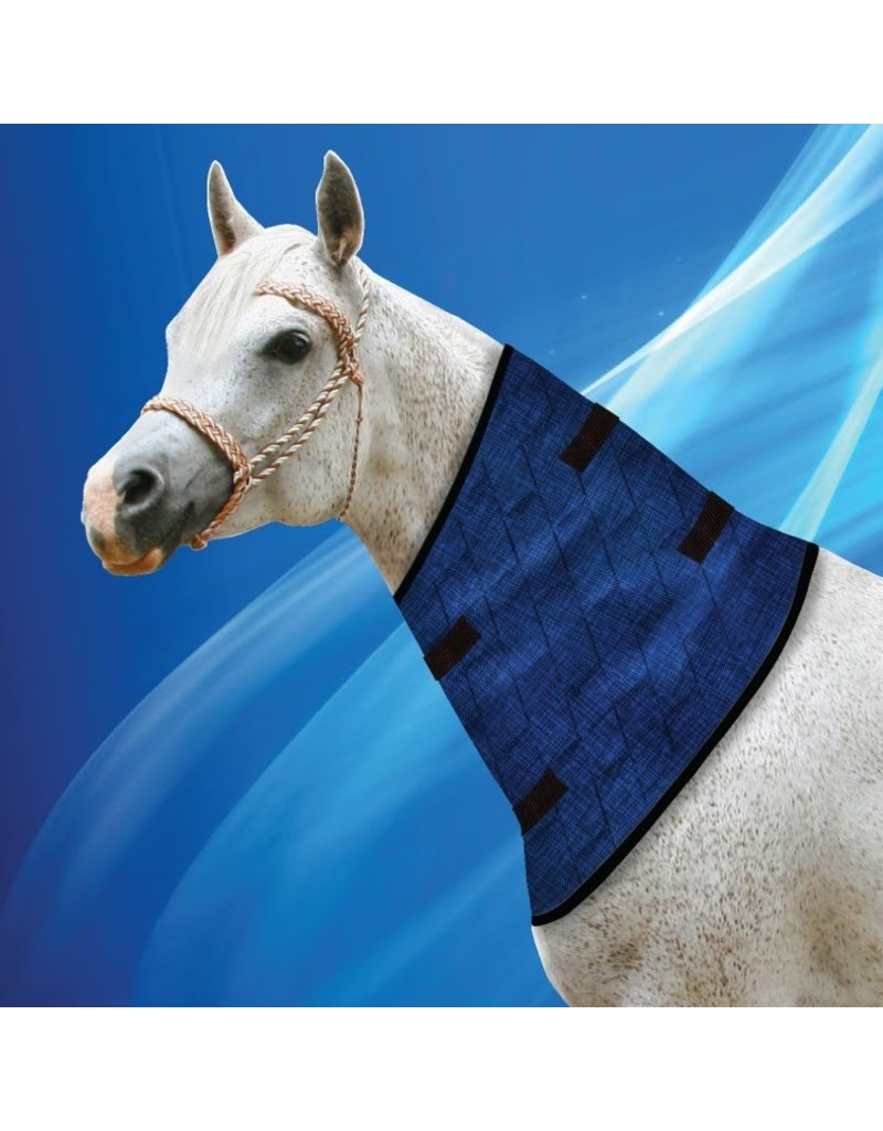 Aqua Coolkeeper Neck Cooling blanket for horses