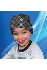 Aqua Coolkeeper Cooling Bandana Scottish Grey Kids